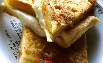 Recette italienne canapés frits à la mozzarella