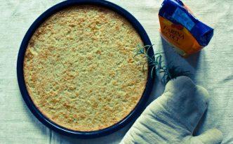 Recette italienne farinata de pois chiches