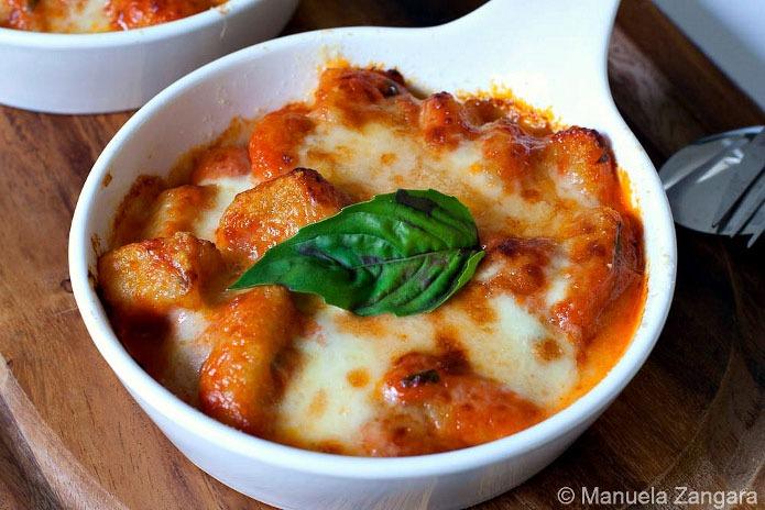 Recette italienne gnocchi la sorrentina la cuisine italienne - Cuisine italienne recette ...