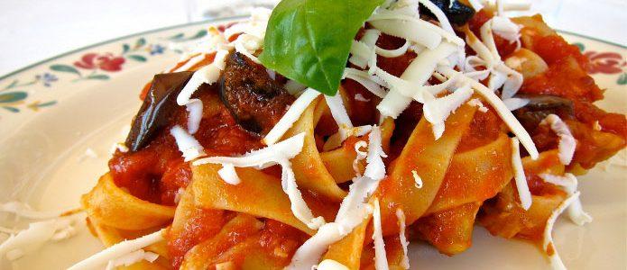 Recette italienne pâtes à la sicilienne