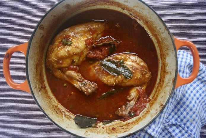 Poulet chasseur recette italienne la cuisine italienne - Cuisine italienne recette ...