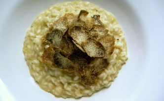 Recette italienne aux truffes blanches