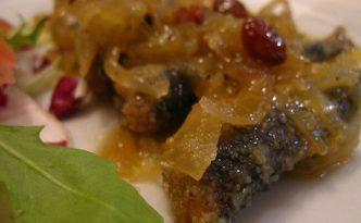 Recette italienne sardines à la vénitienne