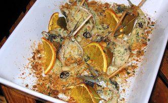 Recette italienne sardines en befigue