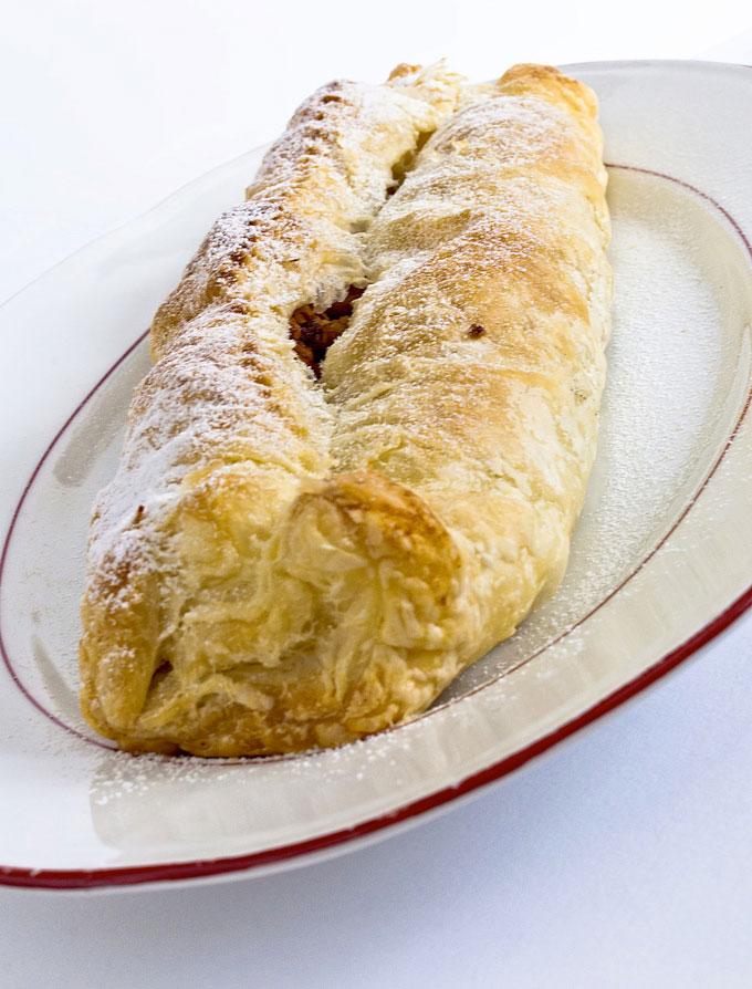 La recette italienne du strudel aux pommes la cuisine italienne - Cuisine italienne recette ...