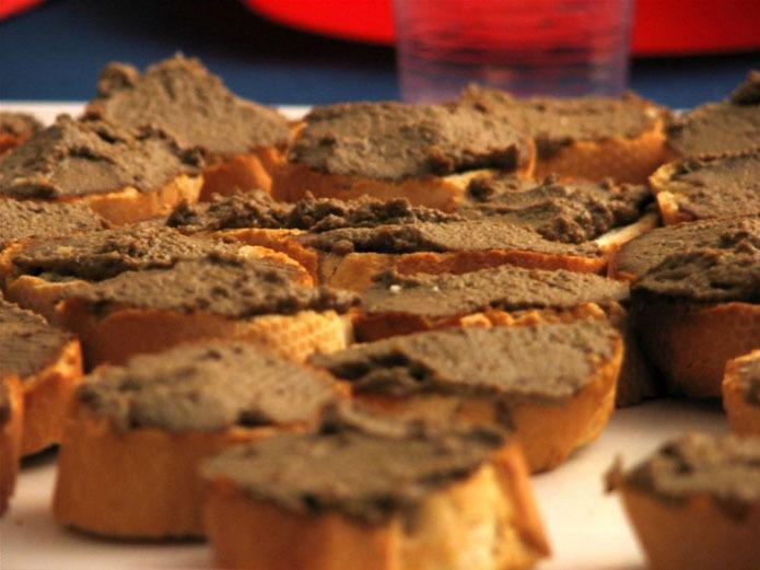 Recette italienne crostini toscani