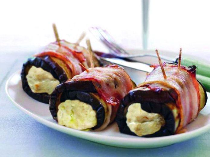 Rouleuax d 39 aubergines et fromage fontina la recette for Cuisine entree facile