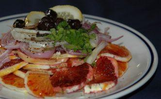 Recette italienne salade d'orange