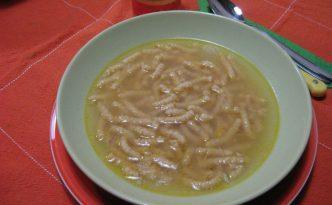 Recette soupe de passatelli