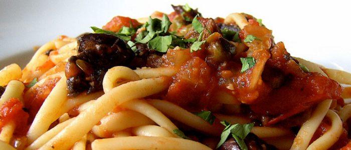 spaghetti alla puttesca