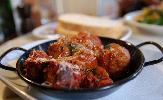Recette italienne boulettes de viande à la sauce tomates