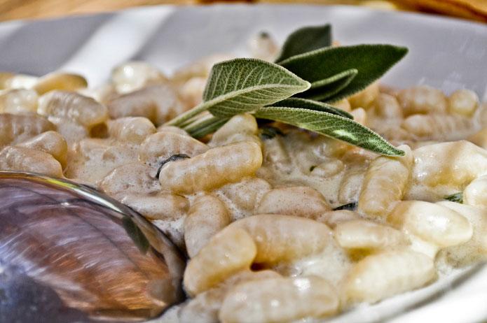 Recette italienne malloreddus au pecorino sarde