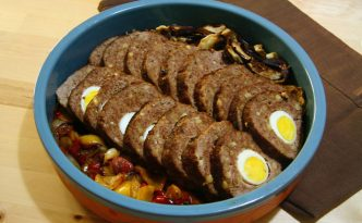 Recette italienne pain de viande à la napolitaine