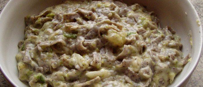 Recette italienne pizzoccheri de la Valteline