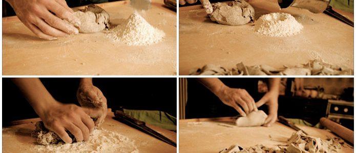 Pâtes faites maison pizzoccheri