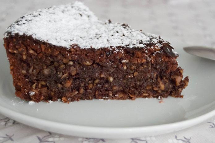 Recette italienne tarte Caprese