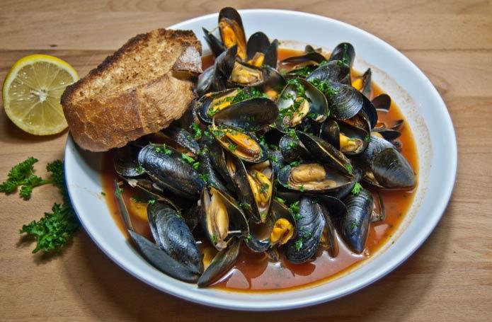 Recette italienne soupe aux moules