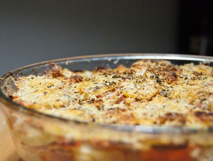 Pommes de terre au four raganate