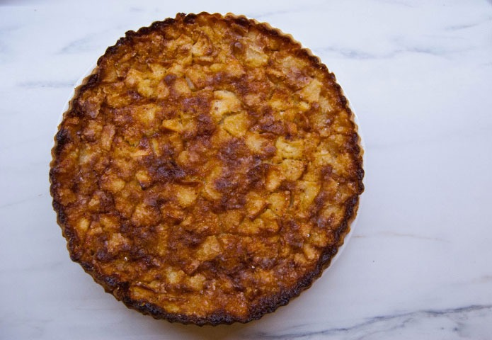 Recette italienne tarte aux pommes