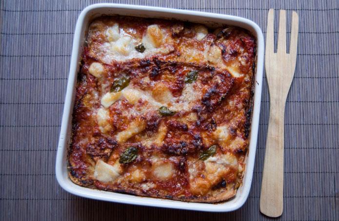 Aubergines la parmigiana la cuisine italienne - Aubergine grillee a l italienne ...