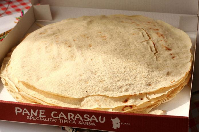 Recette italienne pain carasau