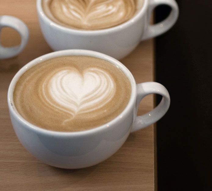 Latteart cappuccino