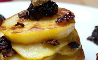 Pommes de terre et poivrons séchés