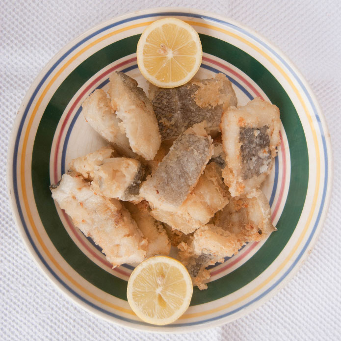 Recette italienne morue frite
