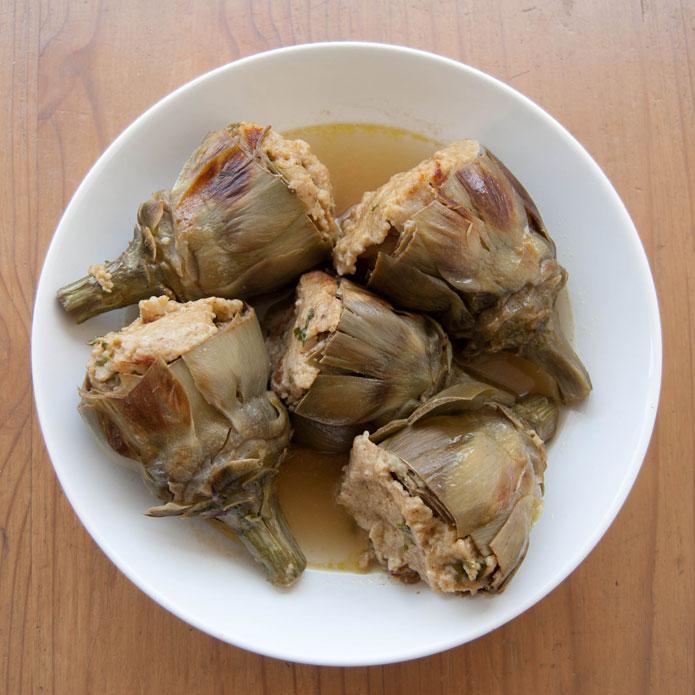 Artichauts farcis la cuisine italienne - Cuisine italienne recette ...