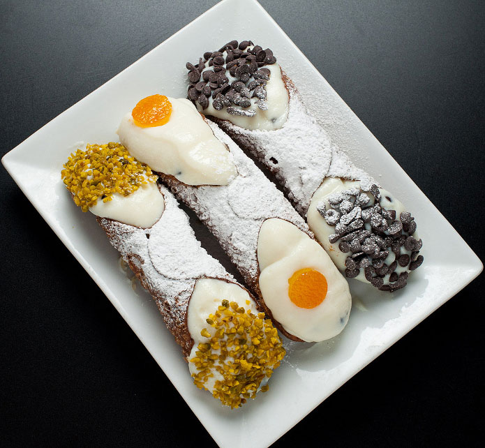 Recette italienne cannoli siciliens