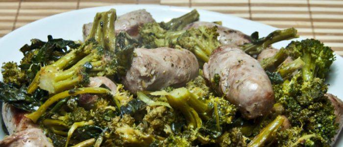 Broccoli et saucisse