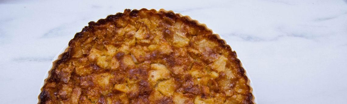 Tarte aux pommes romagnole la cuisine italienne for Formation cuisine italienne